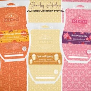 Scentsy Holiday Brick Collection Preview 1