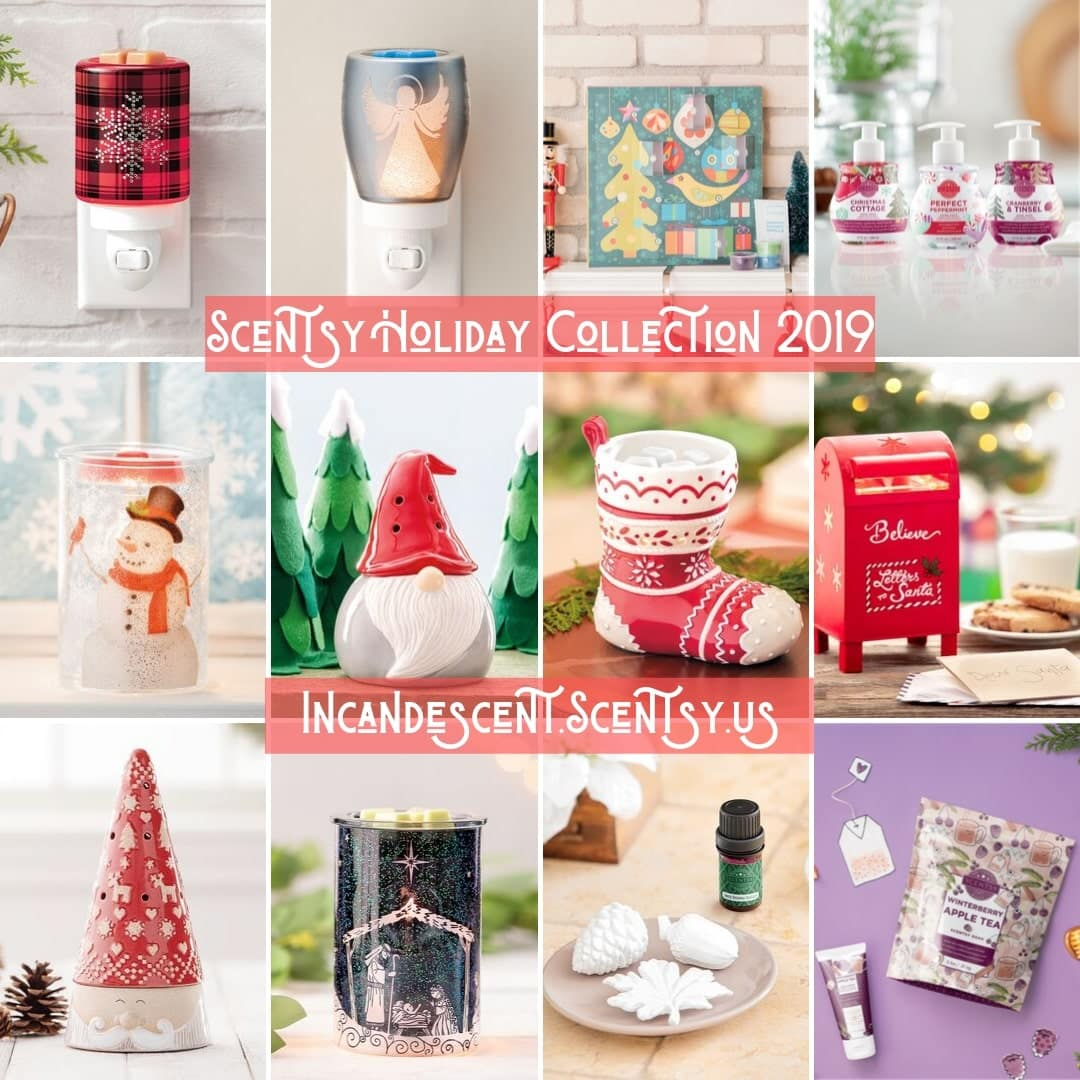 Scentsy Christmas Holiday 2019 Catalog Warmers Incandescent Scentsy Us