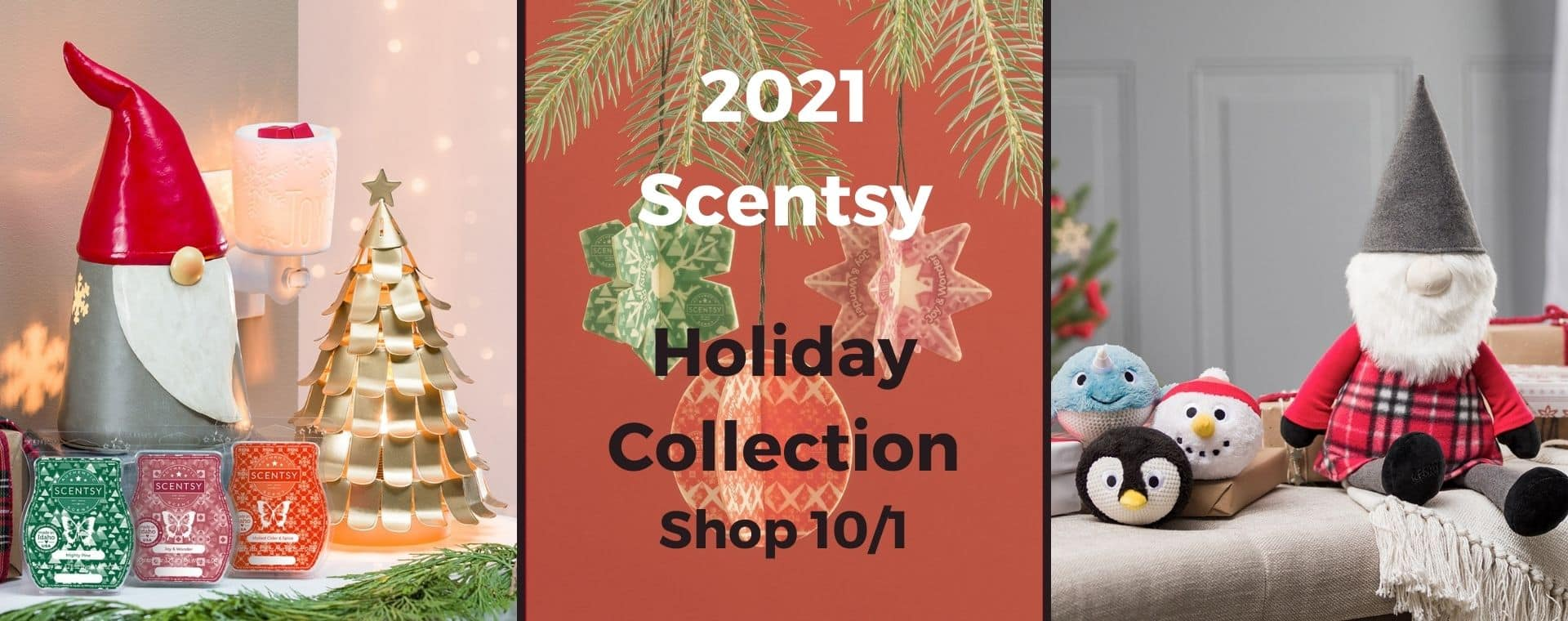 Scentsy Holiday Collection 2021