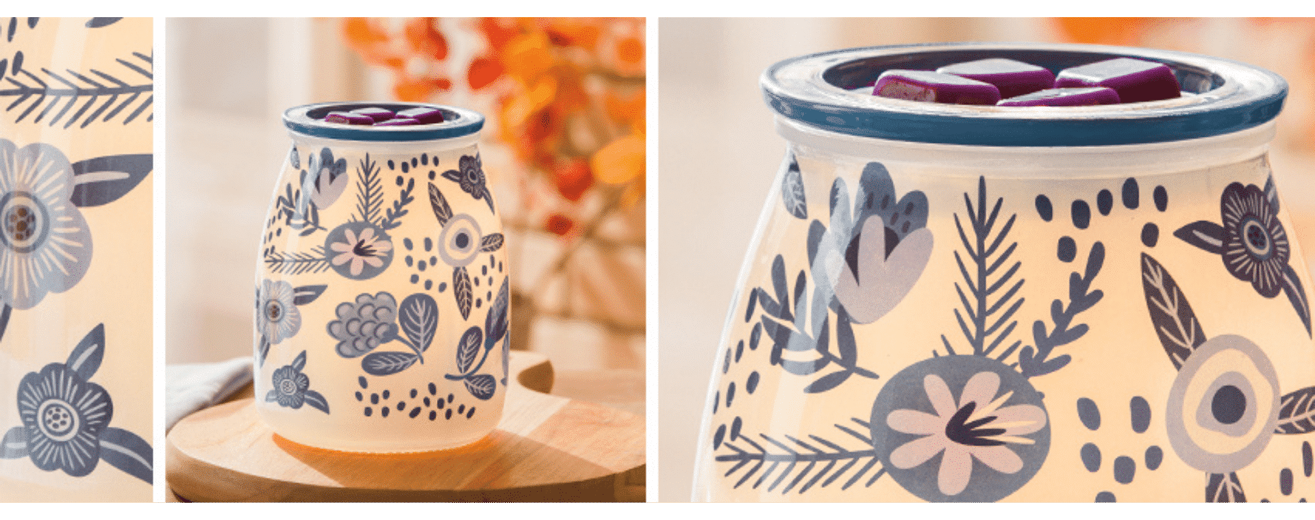 Scentsy Hope Bloom Cause Warmer