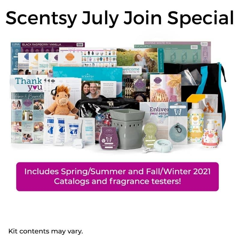 Scentsy July Join Special Fall 2021