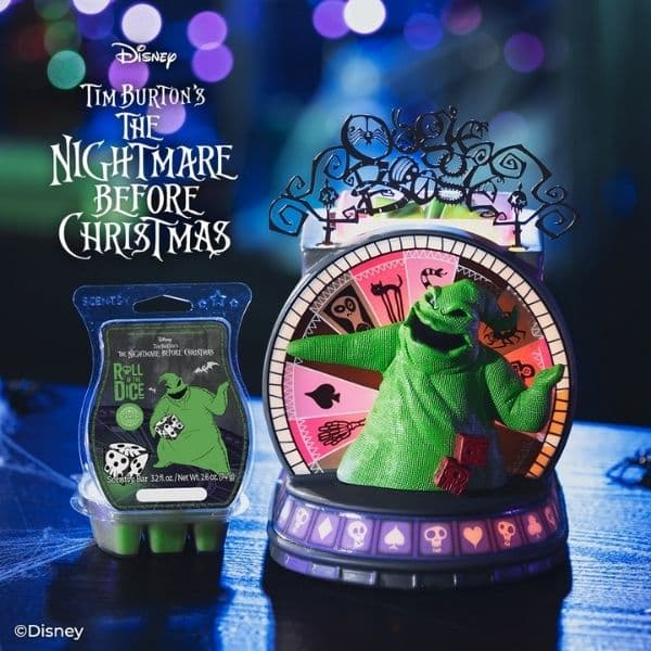 Scentsy Nightmare Before Christmas Collection