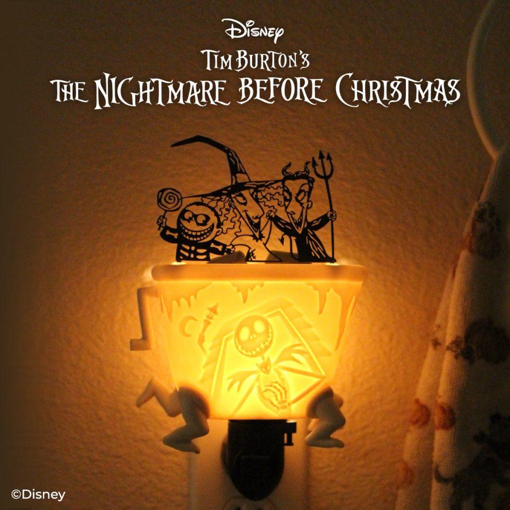Scentsy Nightmare Before Christmas Lock Shock Barrel Mini Warmer1