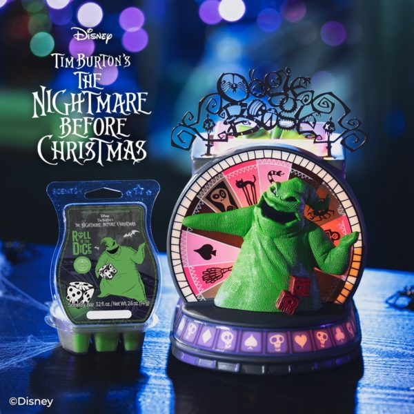 Scentsy Nightmare Before Christmas Oogie Boogies Casino Warmer2 | NEW! Oogie Boogie's Casino Scentsy Warmer | Nightmare Before Christmas | Incandescent.Scentsy.us