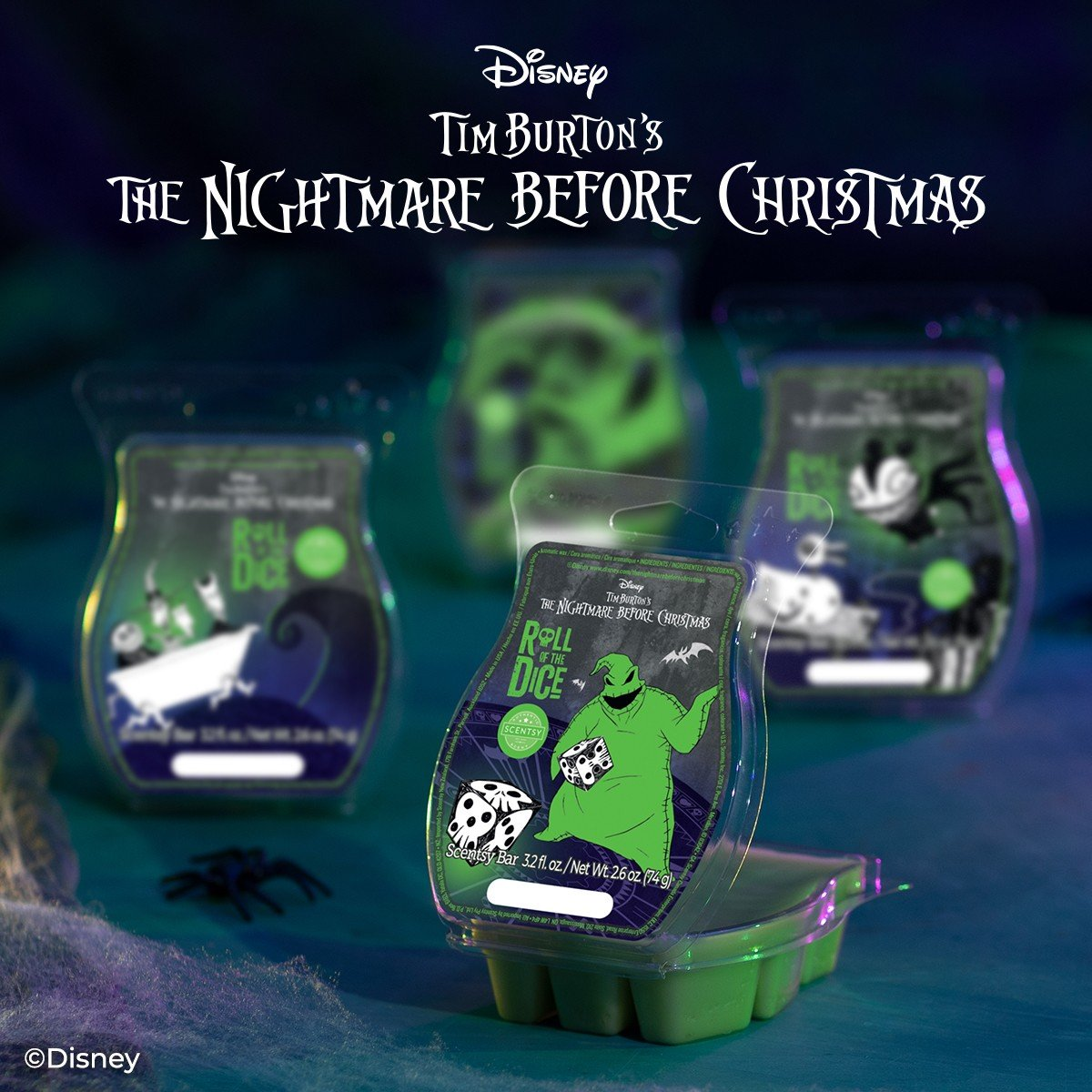 Scentsy Nightmare Before Christmas Roll the Dice Fragrance2