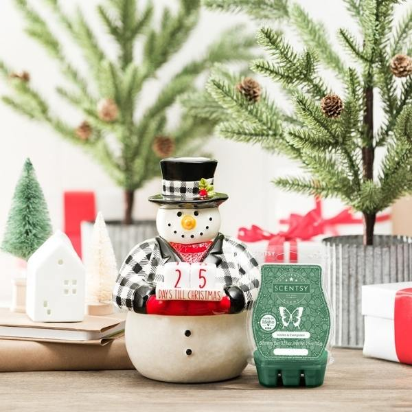 Scentsy November 2021 Warmer Scent of the Month Kick off to Christmas