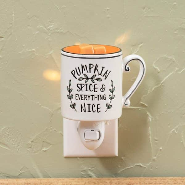 Scentsy Pumpkin Spice Everything Nice Mini Warmer3 | NEW! Pumpkin Spice & Everything Nice Mini Scentsy Warmer | Incandescent.Scentsy.us