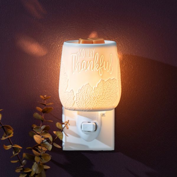 Scentsy So Thankful Mini Warmer1 | NEW! So Very Thankful Mini Scentsy Warmer | Incandescent.Scentsy.us