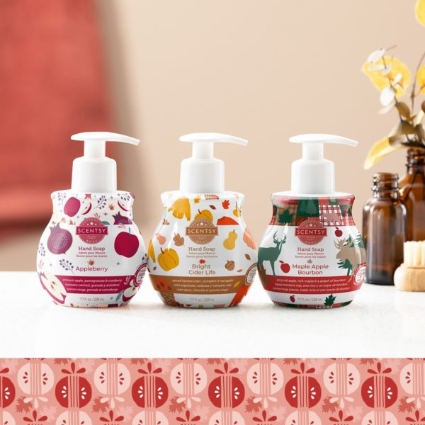 Scentsy Soap Collection 20212 | Harvest 2021 Scentsy Hand Soap 3 Pack