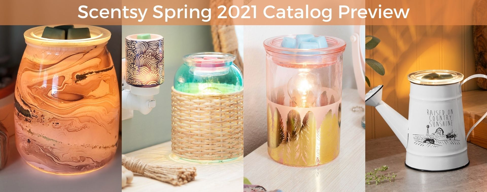 Scentsy Spring 2021 Catalog Preview 1