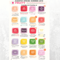 Scentsy Spring Summer 2019 Fruity scents | SCENTSY COMPLETE SCENT LIST FOR SPRING SUMMER 2019 | SCENTSY LIST OF FRAGRANCES | Scentsy® Online Store | Scentsy Warmers & Scents | Incandescent.Scentsy.us