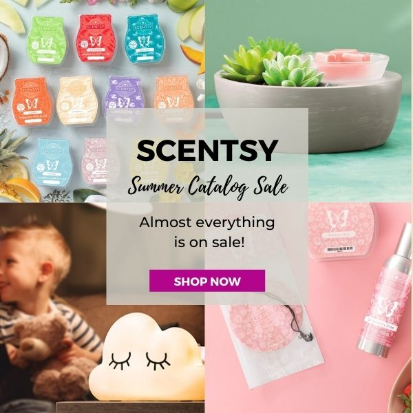 Scentsy Summer 2021 Catalog Sale 600X600