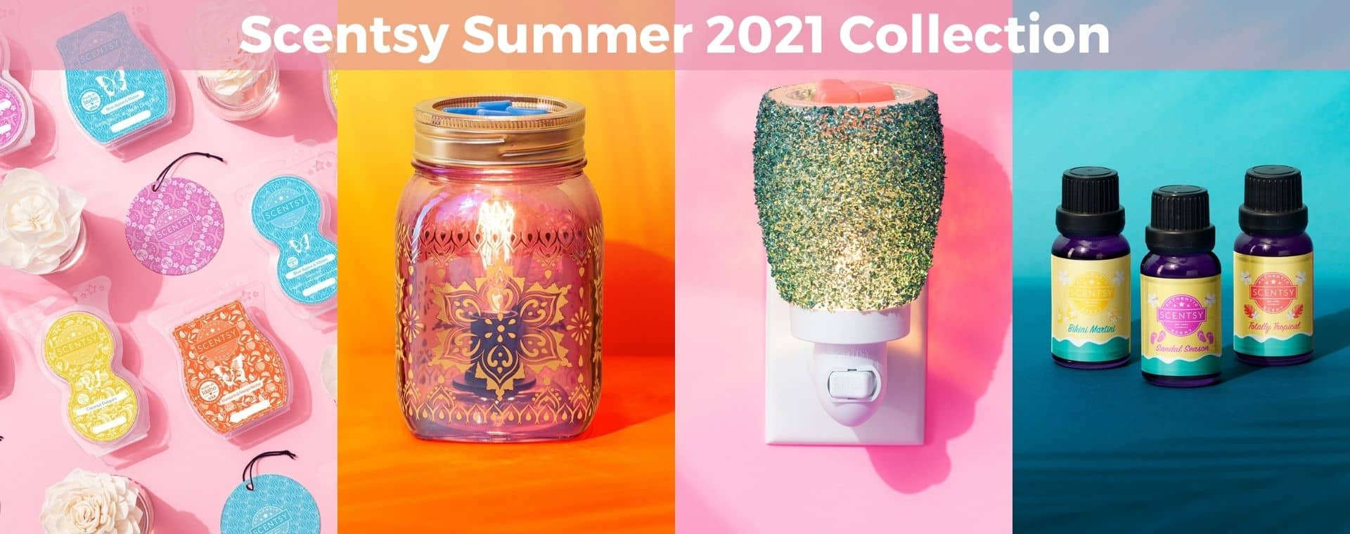Scentsy Summer 2021 Collection Shop 51021 | NEW! Scentsy 2021 Summer Collection | Shop Now