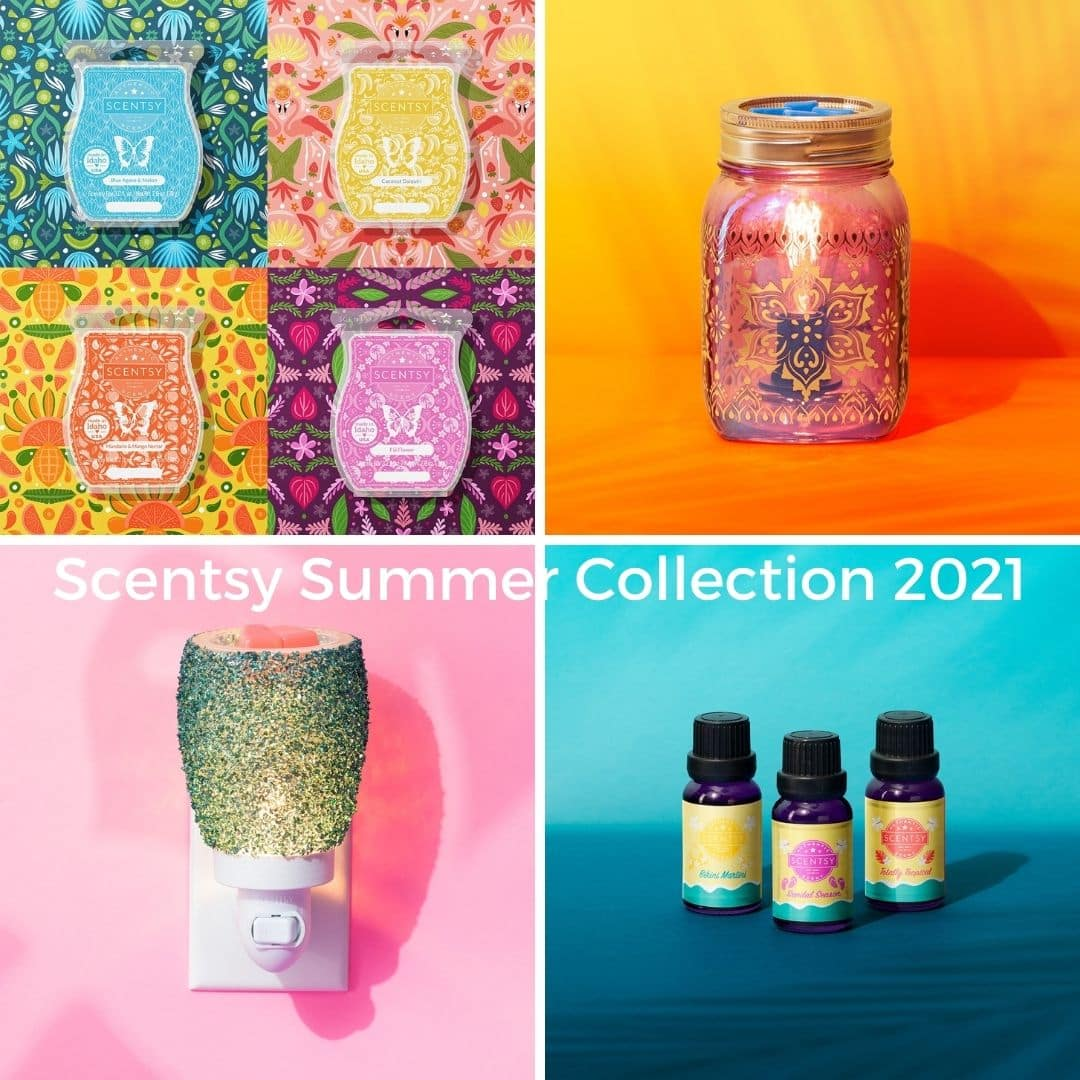 NEW! Scentsy 2021 Summer Collection | Shop 5/10 at 1pm EST