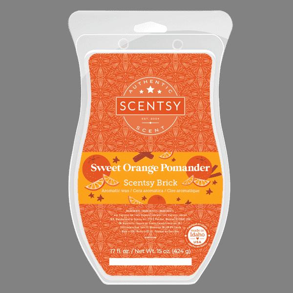 Scentsy Sweet Orange Pomander Brick 2021 Holiday1 | Sweet Orange Pomander Scentsy Brick | Holiday 2021