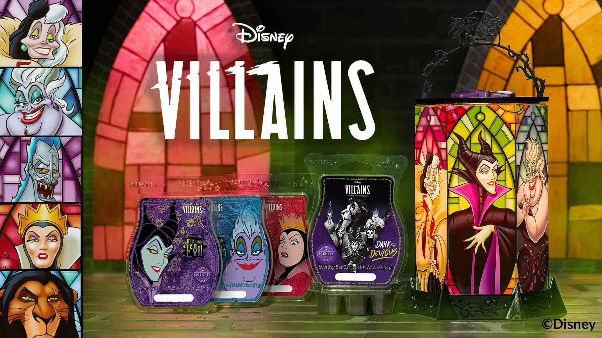 Scentsy Villains All the Rage Warmer Collection Bar