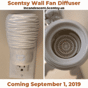 New Fall 2019 Scentsy Wall Fan Diffuser