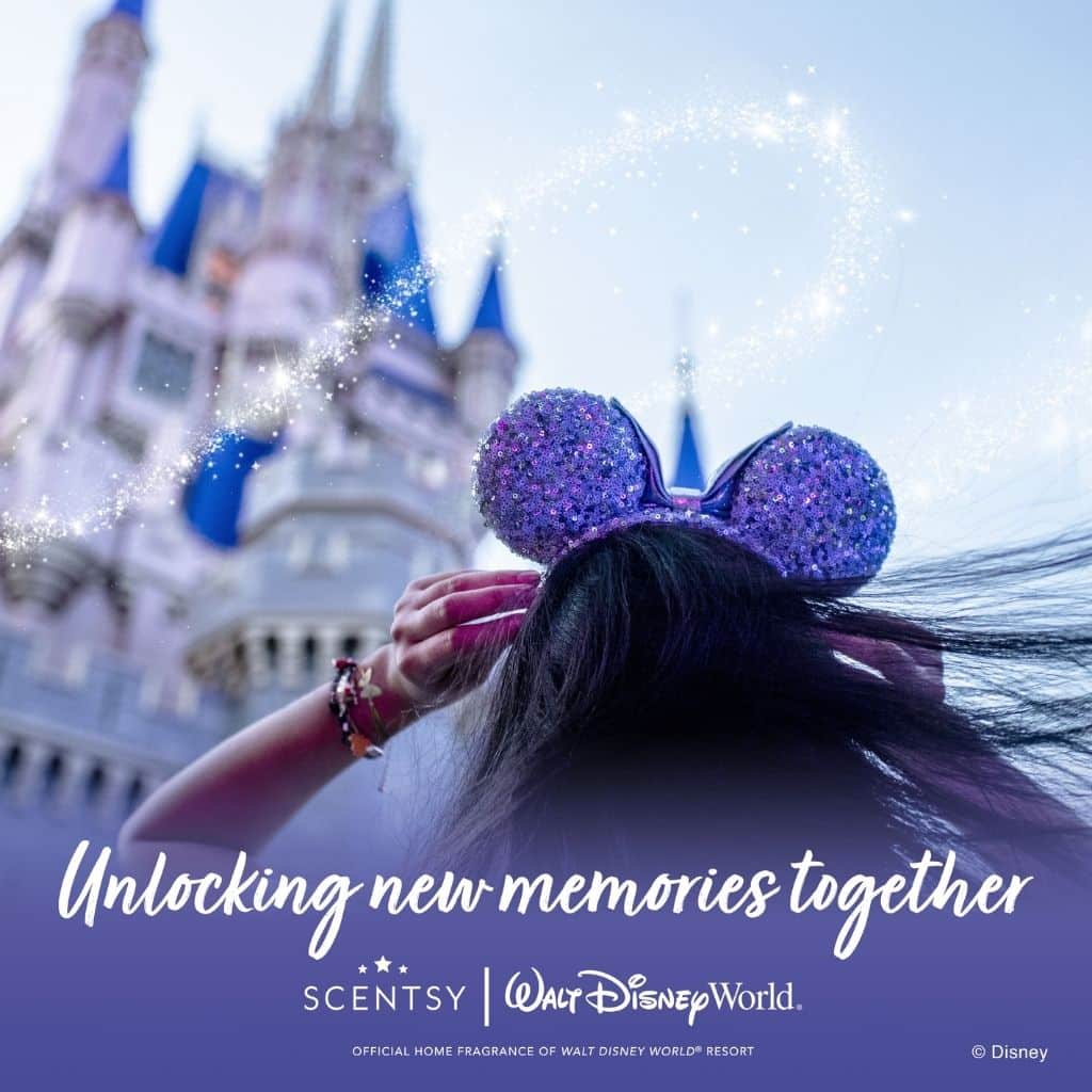 Scentsy is the Official Home Fragrance of Walt Disney World® Resort!