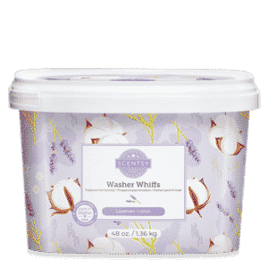Scentsy Washer Whiffs 14 | Lavender Cotton Scentsy Washer Whiffs Tub