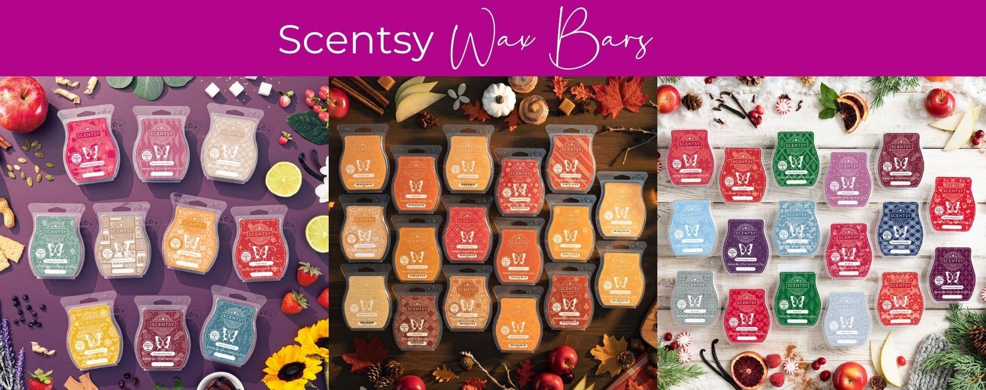 Scentsy Wax Bars Fall 2021