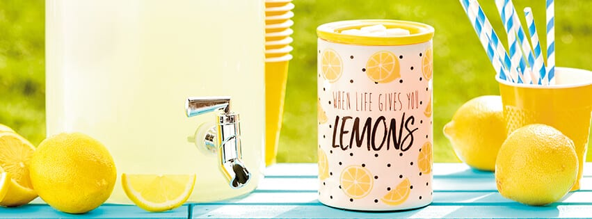 Scentsy When Life Gives You Lemons Warmer