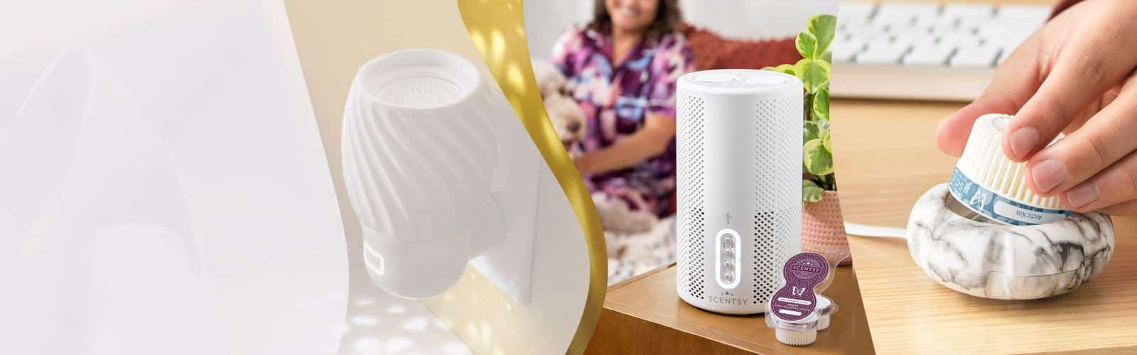 Scentsy fan diffusers Pods