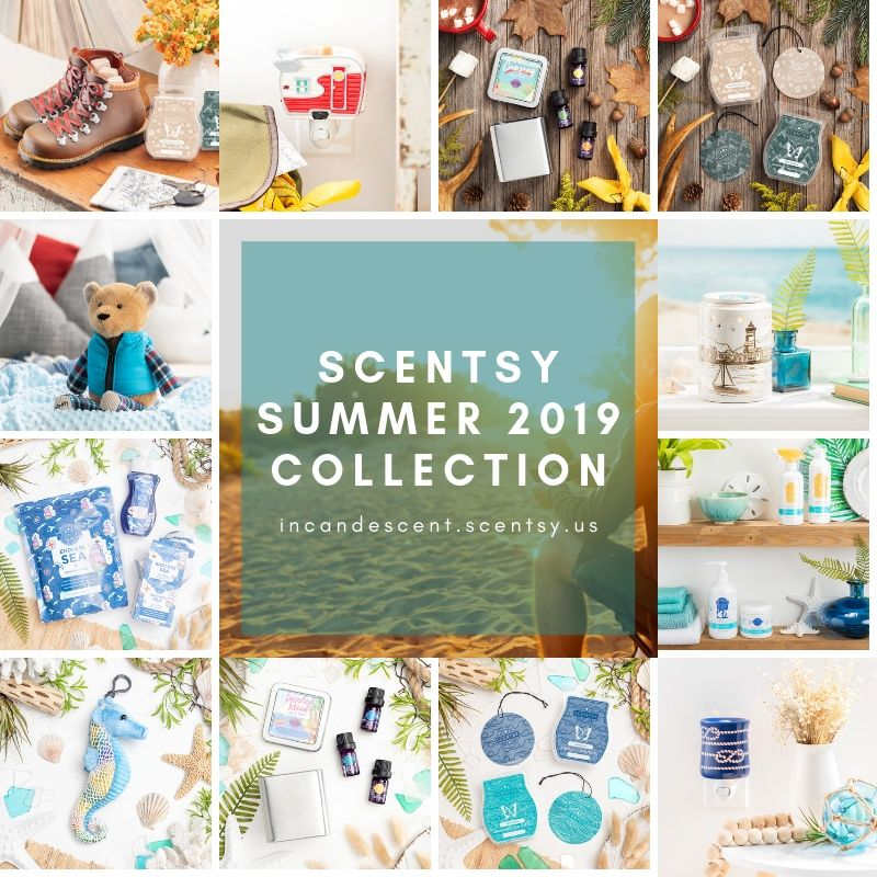 SCENTSY SUMMER 2019 COLLECTION