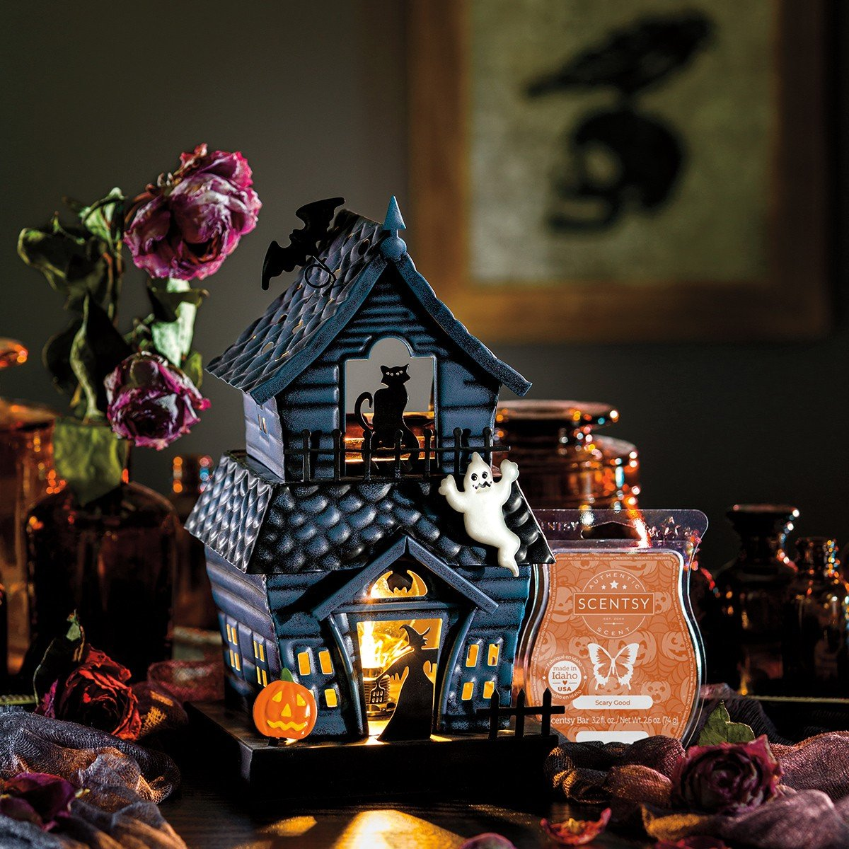 Scentsy September 2021 Warmer & Scent of the Month – Haunting Good Time Warmer & Scary Good Fragrance