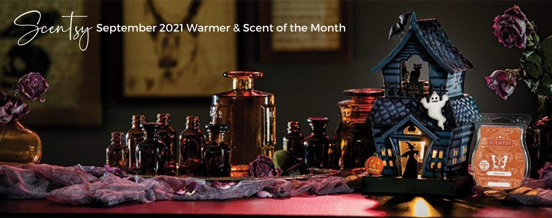 September 2021 Warmer Scent of the Month 1