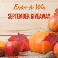 September Scentsy giveaway 2019