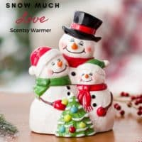 Snow much Love Scentsy Warmer   NEW! SVEN - SCENTSY BUDDY & FEARLESS BY NATURE SCENT PAK   DISNEY FROZEN