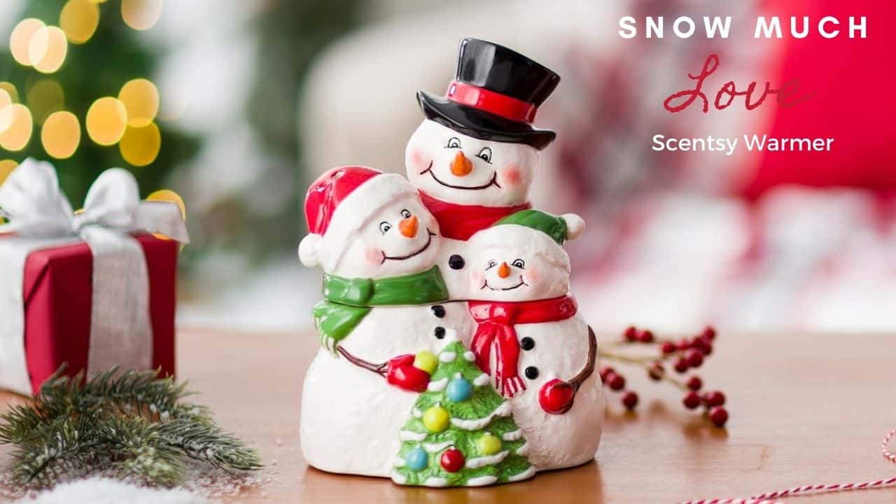 Snow much Love Scentsy Warmer Shop November 1st
