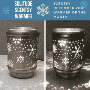 Solitude Scentsy Warmer - Scentsy December 2018 Warmer of the Month