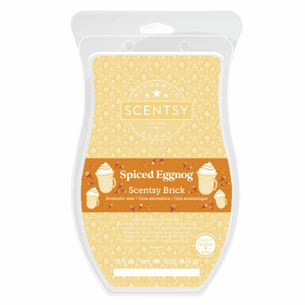 Spiced Eggnog Scentsy Brick | Spiced Eggnog Scentsy Brick | Holiday 2021