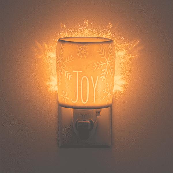 Spirit of Joy Mini Scentsy Warmer 01 | Spirit of Joy Mini Scentsy Warmer | Incandescent.Scentsy.us