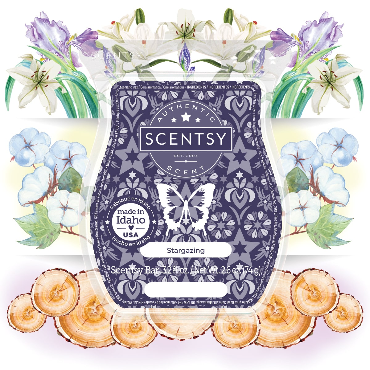 Stargaze Scentsy Fragrance July 2021 | Scentsy July 2021 Warmer & Scent of the Month | Above the Clouds Warmer & Stargazing Fragrance