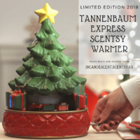 LIMITED EDITION SCENTSY HOLIDAY WARMER - TANNENBAUM CHRISTMAS TREE EXPRESS