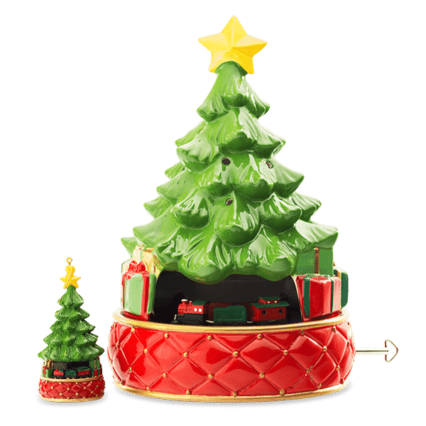 New Tannenbaum Express Scentsy Warmer Holiday 2018