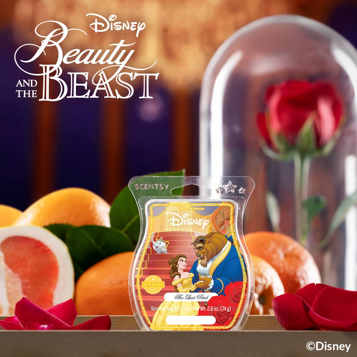 The Last Petal Beauty Beast Scentsy Fragrance | NEW! Beauty & The Beast Scentsy Collection | Mrs. Potts & Chip the Teacup Scentsy Warmers | Shop Now