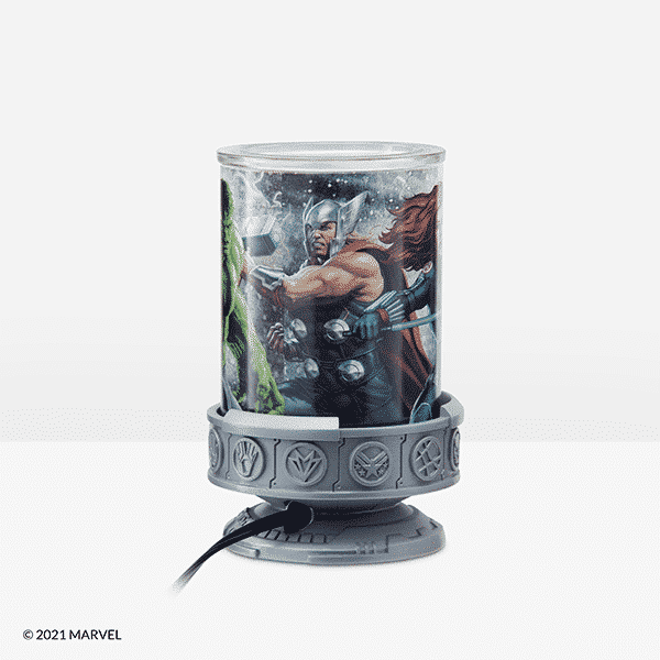 Thor Scentsy Warmer Side   NEW! MARVEL SCENTSY WARMER   SPRING 2021   Incandescent.Scentsy.us