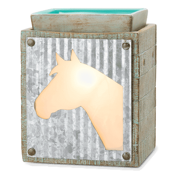 UNBRIDLED SCENTSY WARMER | Unbridled Horse Scentsy Warmer