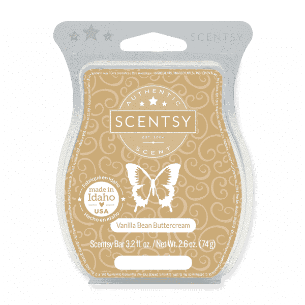 VANILLA BEAN BUTTERCEAM SCENTSY BAR