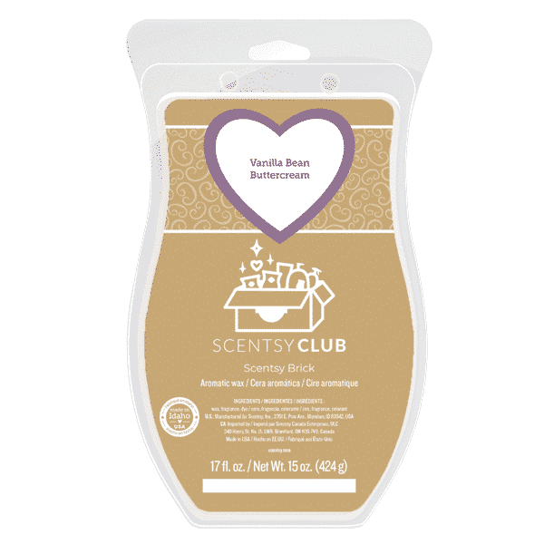 VANILLA BEAN BUTTERCREAM SCENTSY BRICK 1