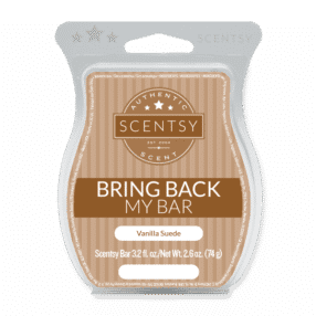 Vanille Suede Scentsy Bar | BRING BACK MY BAR