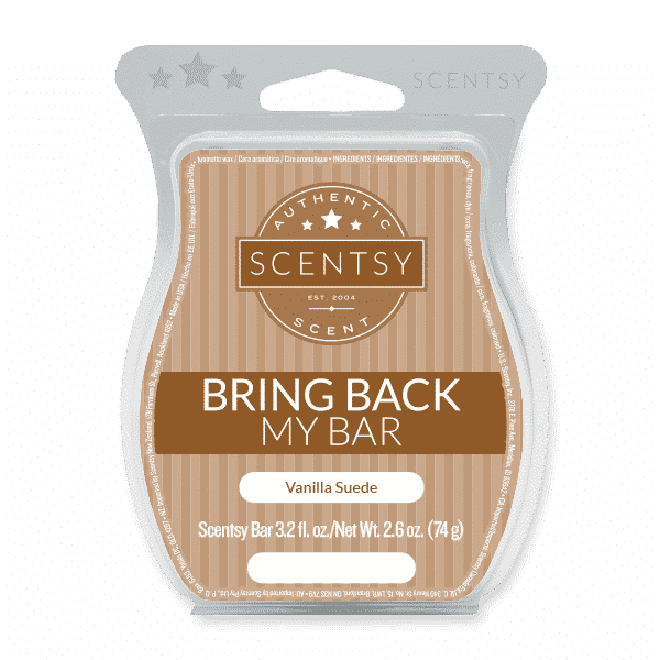 VANILLA SUEDE SCENTSY BAR | BRING BACK MY BAR