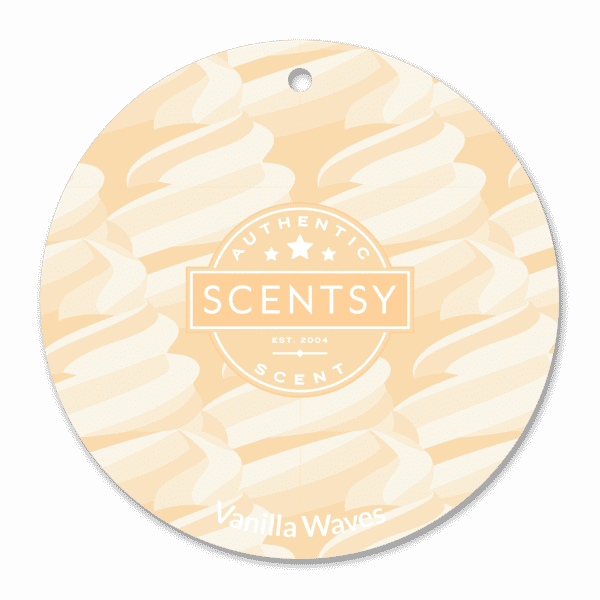 VANILLA WAVES SCENTSY SCENT CIRCLE
