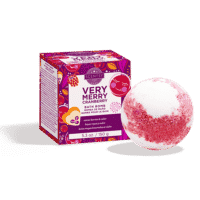 VERY MERRY CRANBERRY SCENTSY BATH BOMB