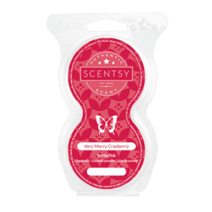 VERY MERRY CRANBERRY SCENTSY GO PODS