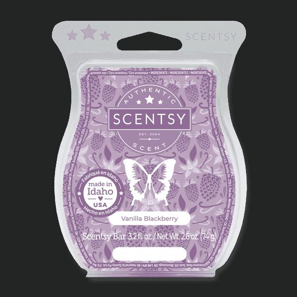 Vanilla Blackberry Scentsy Bar