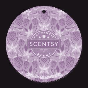 Vanilla Blackberry Scentsy Scent Circle